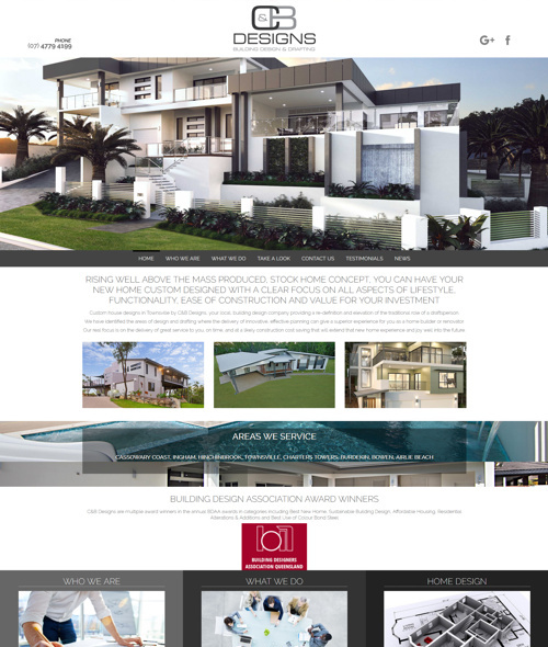 townsville building company website
